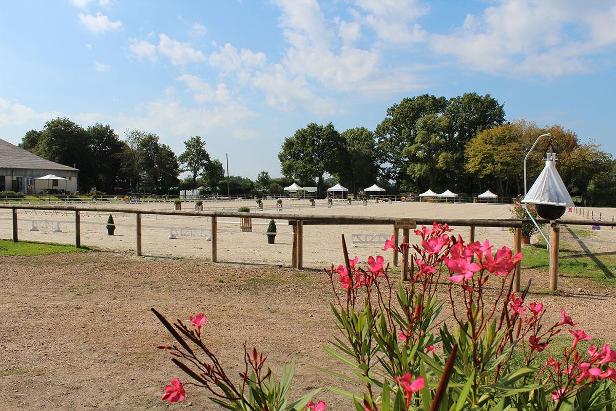 Le centre équestre, le cavaletti Nivernais près de Nevers dans la Nièvre