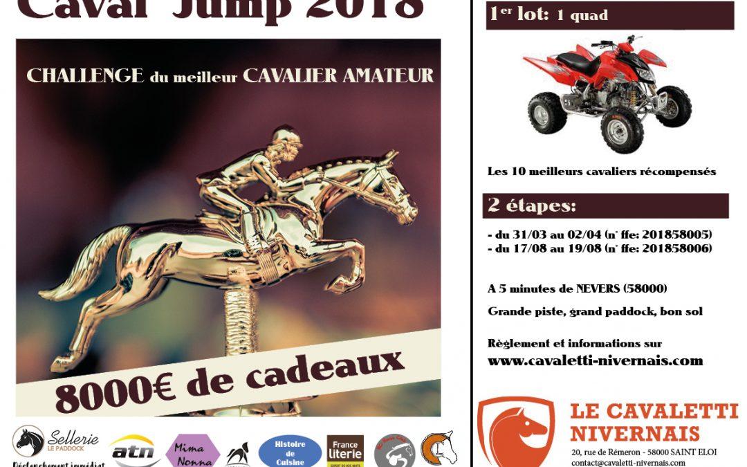 CAVAL'JUMP 2018           !!!!!  8000€ de cadeaux !!!!!